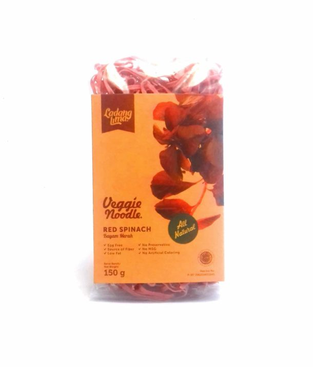 Red Spinach Veggie Noodle